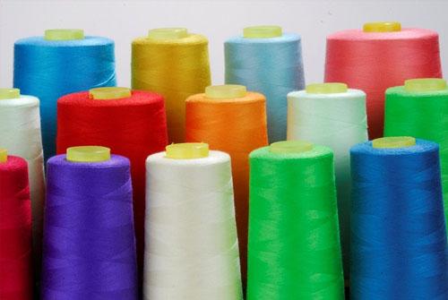 涤纶短纤缝纫线
